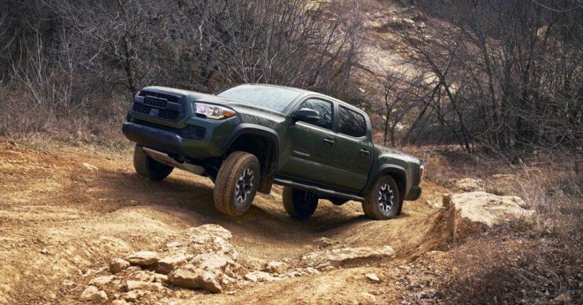 Toyota hebt das Tacoma auf ein noch höheres Niveau